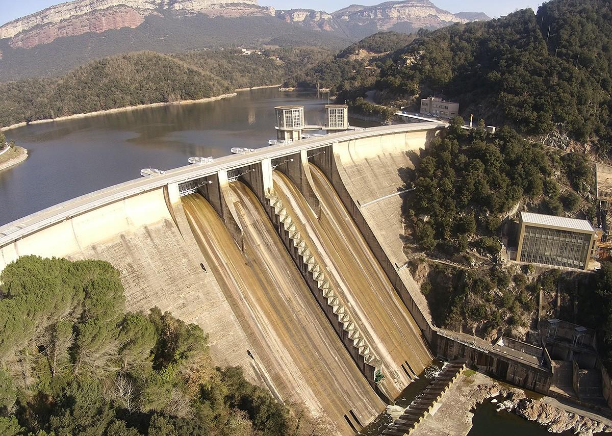 Tasques de modernització de la Central Hidroelèctrica de Sau